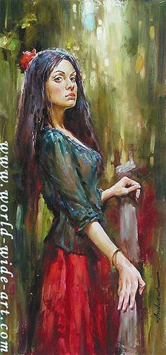 The Wait - Original - Andrew Atroshenko - World-Wide-Art.com
