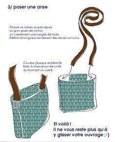 tuto petit sac.... Le plus simple du monde...