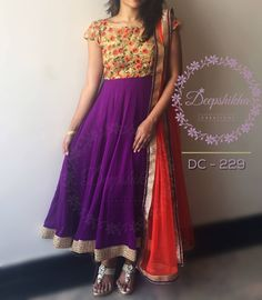 DC 229For queries kindly inbox or Email - deepshikhacreations@gmail.com orWhatsapp/call - 9059683293 13 April 2016 29 November 2016