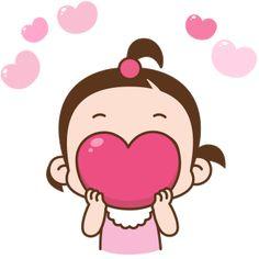 Love You Gif, Cute Love Gif, Cute Cartoon Pictures, Cute Love Pictures, Animated Emoticons, Animated Gif, Happy Face Images, Calin Gif, Bisous Gif