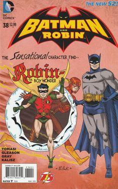 Batman and Robin # 38 DC Comics The New 52! Vol. 2 Variant Cover