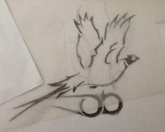 Pheasant hunting tattoo