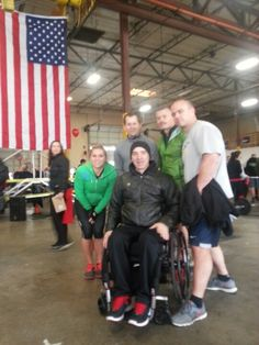CrossFit Indomitable athletes with Paul Meyer at the PMC.