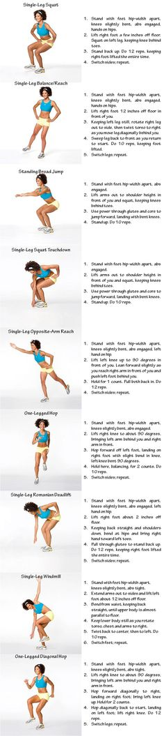 Abs, legs, and glutes!
