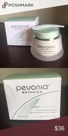 Pevonia Botanica Ligne Sevactive Ligne Sevactive Creme Peaux Seches rejuvenating dry skin cream new with box Makeup