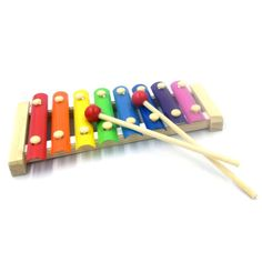 Plastic Sticks 8 Tone Music Beat Percussion Toy Multicolor Xylophone - http://musical-instruments.goshoppins.com/percussion/plastic-sticks-8-tone-music-beat-percussion-toy-multicolor-xylophone/