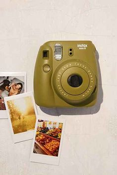 Shop Fujifilm X UO Custom Color Instax Mini 8 Instant Camera at Urban Outfitters today. We carry all the latest styles, colors and brands for you to choose from right here. Poloroid Camera, Fujifilm Polaroid, Instax Mini 8 Camera, Fuji Instax Mini, Fujifilm Instax Mini 8, Camera Photography, Camping, Photos, Pictures