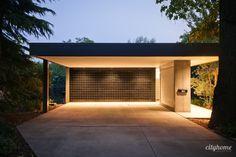 Carport Garage, Pergola Carport, Garage House, Small Pergola, Pergola Garden, Metal Pergola, Carport Modern, Modern Garage, Modern Exterior