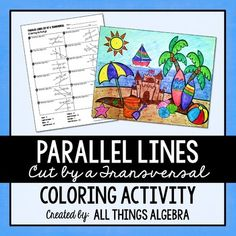 Distributive Properties Worksheet Pdf Parallel Lines Cut By A Transversal  Printable Missing Angle  Math Subtraction Worksheets 2nd Grade Pdf with Addition Math Worksheets Parallel Lines Cut By A Transversal Coloring Activity Tectonic Plates For Kids Worksheets Word