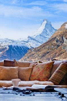 winter in the Swiss Alps ~ Chalet Grace Zermatt, Switzerland