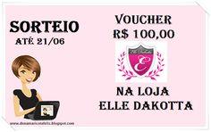 # Vou ganhar VOUCHER que a @Maricotafeliz e a @ElleDakotta estão SORTEANDO