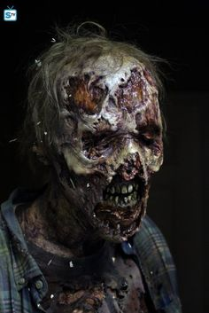 The New Walkers From Season 6 of 'The Walking Dead' are the Gnarliest Yet!
