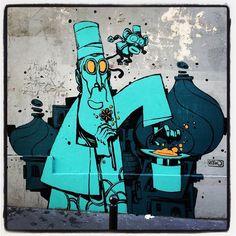 Retro @ Paris Bienvenue à Ortopark  Photo : Lionel Belluteau Plus de photos sur http://ift.tt/YMhG58  @retrograffitism #retrograffitism #graffiti #retro #paris #parisgraffiti #urbanart #wallpainting #urbanartparis #graffuturism #unoeilquitraine #streetart #art #lionelbelluteau