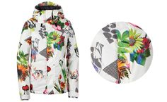 Boarding for Breast Cancer Awareness - Volcom snow jacket