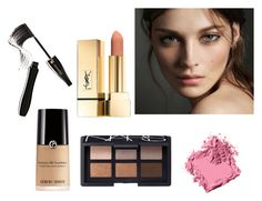 """(6) beauty #makeup #beauty #followforfollow #likeforlike"" by savirafianiesa on Polyvore featuring beauty, Burberry, Bobbi Brown Cosmetics, NARS Cosmetics and Lancôme"