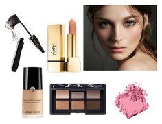 """(6) beauty #makeup #beauty #followforfollow #likeforlike"" by savirafianiesa on Polyvore featuring beauty, Burberry, Bobbi Brown Cosmetics, NARS Cosmetics and Lancôme"