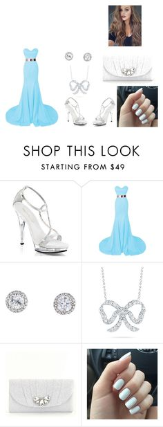 """""""prom dress"""" by jaedynsymone on Polyvore featuring Fabulicious, Roberto Coin and Kate Landry"""