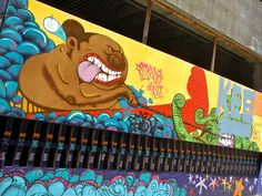 Wicked, Wild, and Wonderful Street Art of Wellington. (Travel, Street Art, New Zealand, Art)