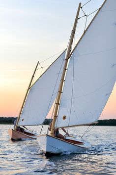 Buzzards Bay Yacht Services of Rochester, Massachusetts, launched two new Friendship Catboats last summer for longtime Friendship summer resident Richard Armstrong, who gave the boats to his daughters.