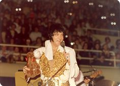 February 20, 1977, Elvis Presley In Concert Charlotte, NC