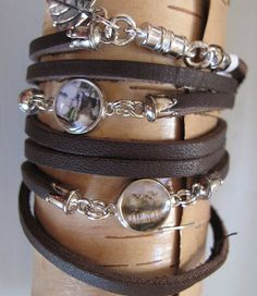 Whitney Haynes Designs - unique leather and hammered copper and silver hand stamped jewelry and accessories