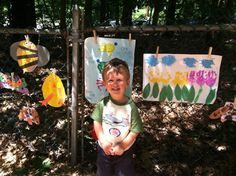 june 2013 - Art show at daycare