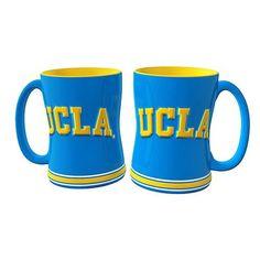 UCLA Bruins 14oz Sculpted Relief Coffee Mug