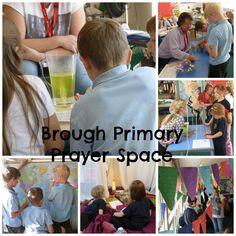 Brough Primary Prayer Space in School. June 2015