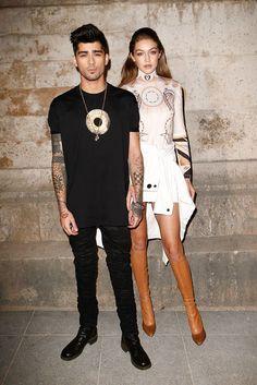Gigi and Zayn Do Date Night at Givenchy; Kim Kardashian West Goes Full-On Boudoir