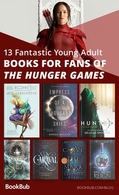 If you loved 'The Hunger Games' you're sure to love these other fantastic YA books! Find your next read on this list. Young adult books to read if you loved the hunger games Best Books To Read, Ya Books, Book Club Books, Great Books, Book Lists, Reading Lists, Book Art, Reading Games, Book Suggestions