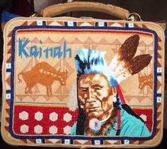 Beaded lunchbox by Jackie Larson Bread (Blackfoot). Image source: facebook.com/jackie.l.bread