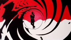 In this project I am making a Bond title sequence clip on After Effects. Images (below) show parts of the original film title sequences. On the background I have added silhouettes, patterns, objects, girls and an man with a gun. James Bond Party, James Bond Theme, James Bond Movies, Best Titles, Movie Titles, Logo Google, Silhouette Logo, 007 Theme, Secret Agent Party