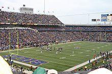 Buffalo Bills - Ralph Wilson Stadium - ''The Ralph'' - Capacity: 80,020 - 1973 to Present - (Stadium Formerly Named Rich Stadium 1973 to 1998, Bills Stadium 1998 & Ralph Wilson Stadium 1999 to Present)
