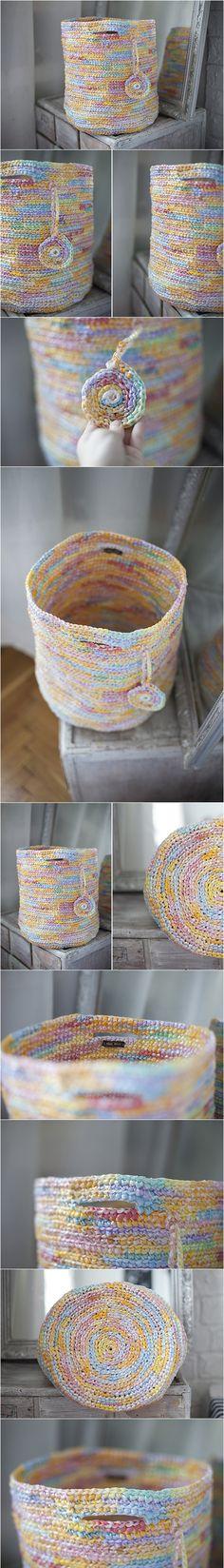 upcycled basket, recycling, toy storage, storage