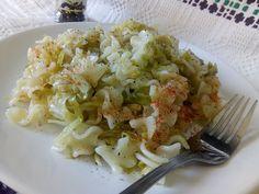 Hellena  ...din bucataria mea...: Paste cu varza calita - de post Paste, Cabbage, Grains, Rice, Vegetables, Food, Diet, Fine Dining, Veggies