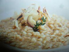 topinambur ricette - risotto delizioso Risotto, Orzo, Dolce, Grains, Pasta, Cooking, Ethnic Recipes, Food, Contouring