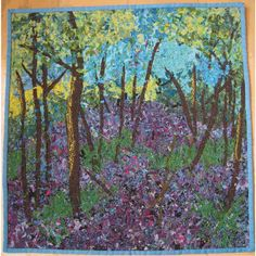 "noriko endo photo gallery | Bluebells"". A Noriko Endo desgin using some Oakshott fabrics by Liz ..."