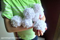 Snow is coming, but it might not be ideal for outside play. No worries, make this fun winter craft instead.
