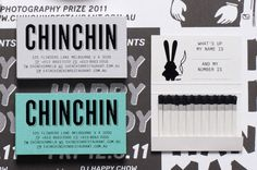 Chin Chin, Melbourne / The identity is consumed with graphic novel style illustrations and custom icons such as the bunny ears which collectively capture the cheeky and irreverent voice of the brand. Collateral Design, Identity Design, Visual Identity, Brand Identity, Label Design, Print Design, Logo Design, Professional Business Card Design, Identity