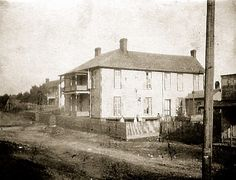 The old McGinnis Hotel, Collierville, Tennessee ca 1895 by Peer Into The Past, via Flickr