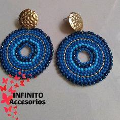 Crochet Earrings, Instagram, Jewelry, Stud Earrings, Blue Nails, Jewlery, Jewerly, Schmuck, Jewels