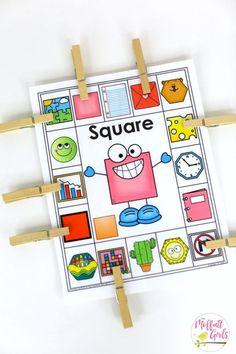 Love this from @moffattgirls   Kindergarten Math, Kindergarten, Shapes, Common Core Math, Hexagon, Math Games, 3d Shapes  #kindergarten #math