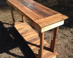 Custom made to order sofa/entry table
