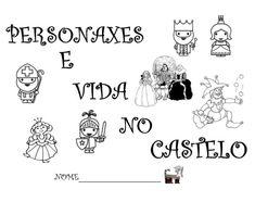 Fichas de los personajes del castillo.