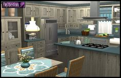 Buggybooz kitchens Sims 4 Kitchen, Buy Kitchen, Kitchen Cabinets, Sims 2 House, Sims 3, Victorian Goth, Home Accessories, Rustic, Country Kitchens