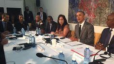 ERMITA 52: Barack Obama se reúne con un grupo de disidentes e...