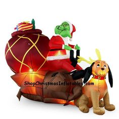 grinch inflatible halloween inflatables christmas inflatables christmas lights outdoor christmas decorations thanksgiving