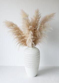 Large Hand-Blown Glass Cherry Blossom Vase - 16.75