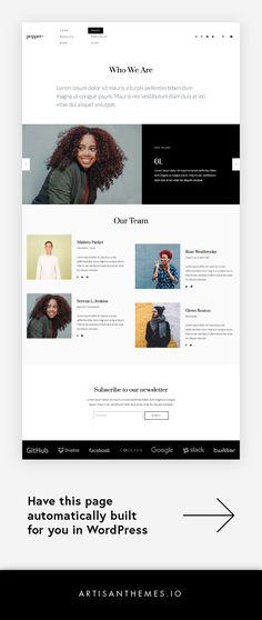 Vivienne Wordpress Theme | Pinterest | Business website, Boss lady ...