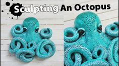 Polymer Clay Octopus Sculpture Tutorial    Maive Ferrando